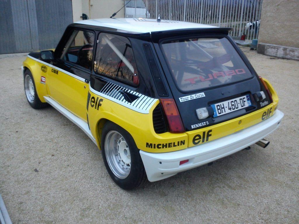 r5 turbo 1980 tour de corse club alpine et renault anciennes dr me ard che. Black Bedroom Furniture Sets. Home Design Ideas