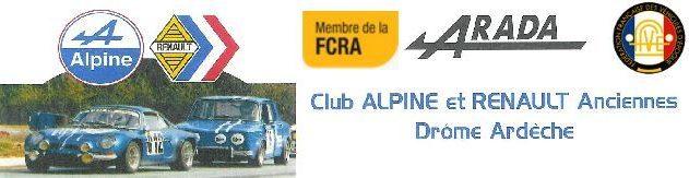 Club Alpine et Renault Anciennes Drôme Ardèche